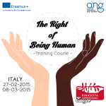 The right of being human_LOGO